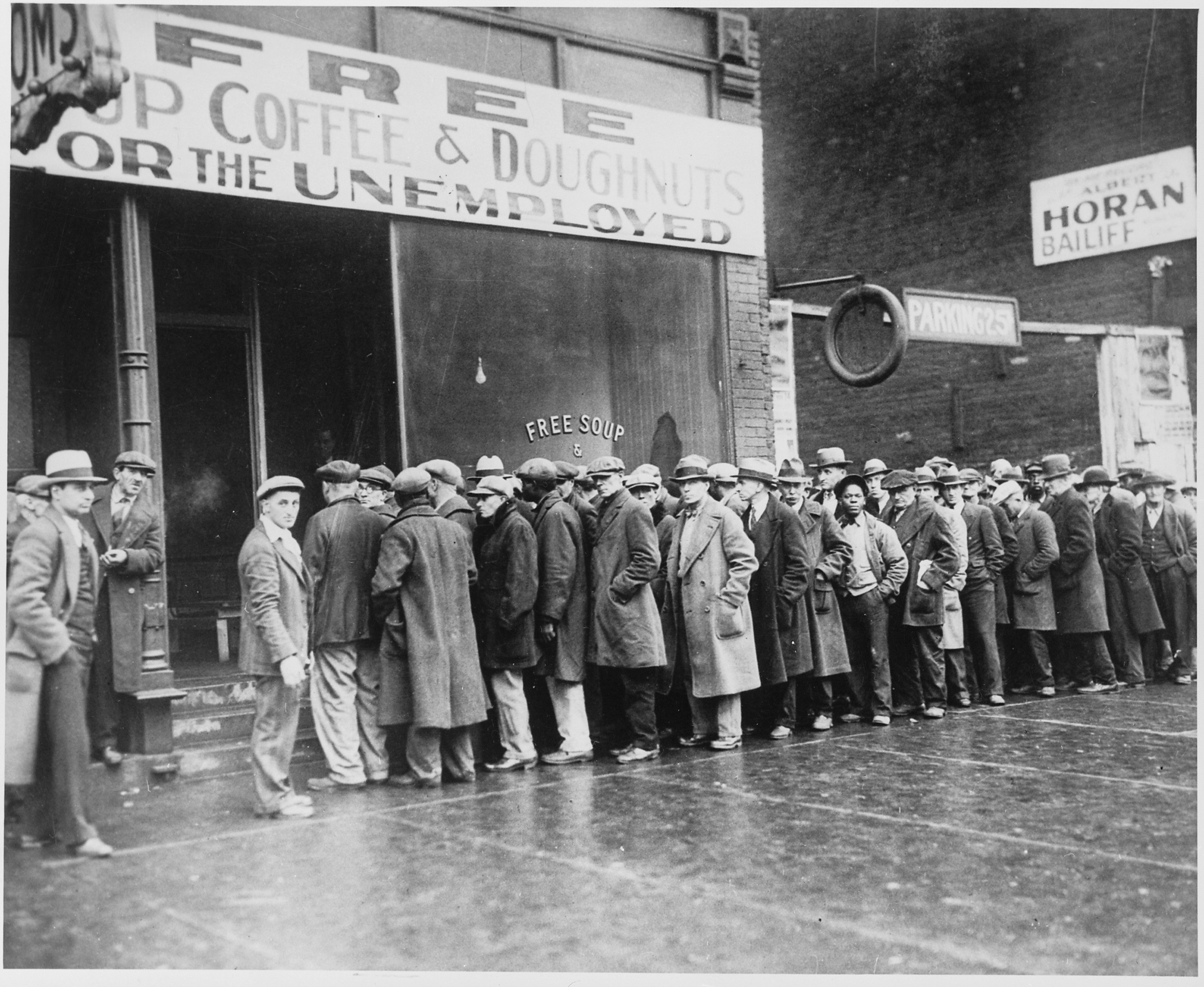 Soup Kitchens During The Great Depression In Australia